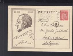 Dt. Reich Bild-PK 1932 Stempel Stuttgart Planetarium - Deutschland