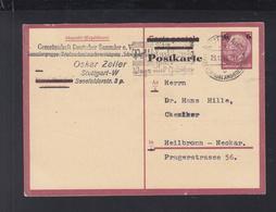 Dt. Reich GSK 1943 Stuttgart Nach Heilbronn - Deutschland
