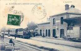 03 , ST POURCAIN SUR SIOULE , La Gare , * 426 50 - France