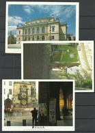 CECH Prepublic PRAHA 3 Post Cards Sent From Germany With Stamp 1996 - Tschechische Republik