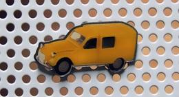 Pin's CITROËN 2CV FOURGONNETTE Couleur De La Poste - Collection Utilitaires - Citroën