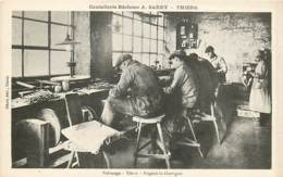 63 , THIERS , Coutellerie-Réclame A . Sarry , Polissage , Usine Nogent La Garrigue , * 427 02 - Thiers