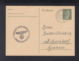 Dt. Reich GSK NSDAP Ortsgruppe Schorndorf-West 1942 Gelaufen - Deutschland