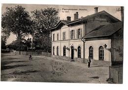 FAULQUEMONT LA GARE  ANIMEE - Faulquemont