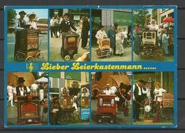 Germany Postkarte 1994 Leierkastenmann Nach Estland Gesendet Mit Briefmarke - Berufe