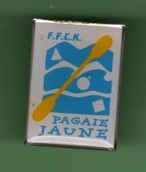 CANOE KAYAK *** F.F.C.K. PAGAIE JAUNE *** 1004 - Canoeing, Kayak