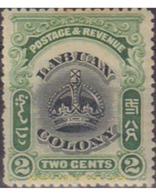 Ref. 597498 * HINGED * - LABUAN. 1902. CROWN . CORONA - Grande-Bretagne (ex-colonies & Protectorats)