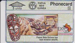 #09 - PAPUA NEW GUINEA-01 - EXPO '92 SEVILLA - Papouasie-Nouvelle-Guinée