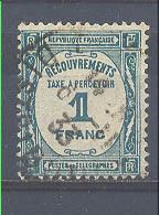 Año 1927 Nº 55 Tasa - 1859-1955 Oblitérés