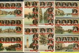 DOGES DE VENISE - SERIE DE 24 CARTES POSTALES ANCIENNES - Venezia
