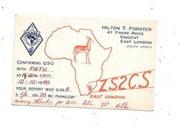SOUTH AFRICA : QSL East London - Radio Amateur