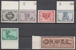 Belgie    .    OBP      .     625/630      .      **       .   Postfris    .  / .  Neuf Sans  Charniere - Unused Stamps