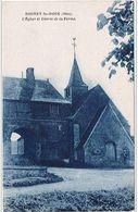 BOISSY  Le  BOIS  60  Eglise . Entrée De Ferme. - Andere Gemeenten