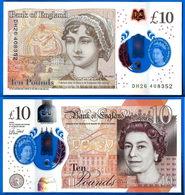 Royaume Uni 10 Pounds 2017 Serie DH Polymer Pound Grande Bretagne Angleterre UK United Kingdom Queen 2 Que Prix + Port - 10 Pounds