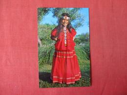 Little Miss Apache San Carlos Reservation Az.      . Ref 3343 - Native Americans