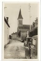 Carte Postale Maisonneuve - Rue Et Eglise - France
