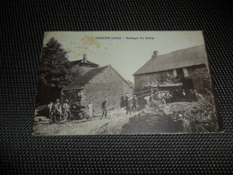 France ( 61 )  Frankrijk  :  Geruge ( Jura )   Battage Du Grain - Frankrijk