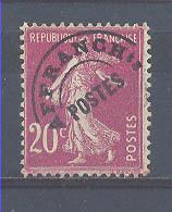 Año 1922 Nº 54 Timbres De Poste Preobliterados - 1893-1947