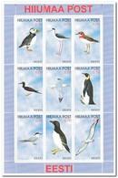 HIiumaa Post, Postfris MNH, Birds - Estland