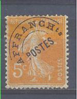 Año 1922 Nº 50 Timbres De Poste Preobliterados - 1893-1947