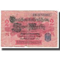 Billet, Allemagne, 2 Mark, 1914, 1914-08-12, KM:53, TB - [ 2] 1871-1918 : Impero Tedesco