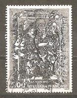 FRANCE 1991  Y T N ° 2730 Oblitéré  François Rouan Volta Faccia - Frankreich