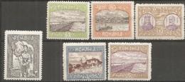 ROU -   Yv. N°  222,224 à 228  *  Silistrie-Dobroudja Cote  8,75 Euro  BE  2 Scans - 1881-1918: Carol I