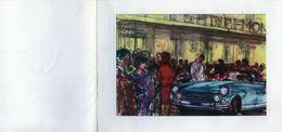 Carton D'invitation Pour Le Salon International De L'automobile Octobre 1963 - Announcements