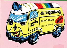 Sticker - De Regenboog - DROOGKUIS - Tel.015/71 15 60 - Valois - Autocollants
