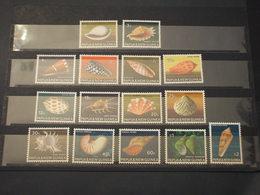 PAPUA - 1968/9 CONCHIGLIE 15 VALORI - NUOVI(++) - Papua Nuova Guinea