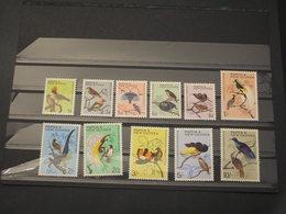 PAPUA - 1964 UCCELLI  11 VALORI - NUOVI(++) - Papua Nuova Guinea