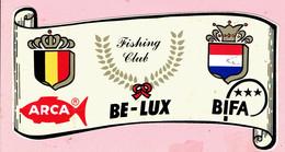 Sticker - Fishing Club - ARCA - BE-LUX - BIFA - Autocollants