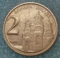 Yugoslavia 2 Dinara, 2002 -1864 - Yugoslavia