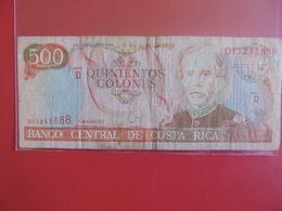 COSTA RICA 500 COLONES 1994 CIRCULER - Costa Rica