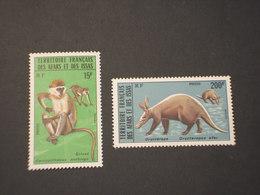 AFAR ISSAS - 1975 ANIMALI  2 VALORI - NUOVI(++) - Afars E Issas (1967-1977)