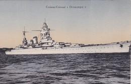 """Thèmes  Transports  Bateaux Guerre """" Cuirassé Dunkerque  """" - Warships"""