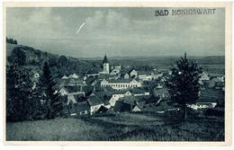 BAD KÖNIGSWART - Lázně Kynžvart - Sudetengau - 1940 - Total Ansicht - Sudeten