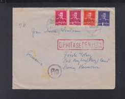 Romania Cover 1943 Ismail Bassarabia Transnistria Censor To Germany - Storia Postale Seconda Guerra Mondiale