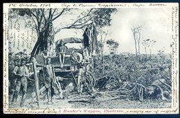 Cpa Afrique Du Sud South Africa , Zimbabwe Rhodesia , A Hunter's Waggon    AFS7 - Zimbabwe