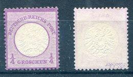 Deutsches Reich Michel-Nr. 16 Ungebraucht (*) - Geprüft - Ungebraucht