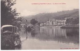27 Eure -  SAINT-PIERRE-du-VAUVRAY - La Seine Et La Colline - Vapeur - France