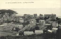LE VAL ANDRE ( C Du N) La Plage Et Les Villas RV - Pléneuf-Val-André