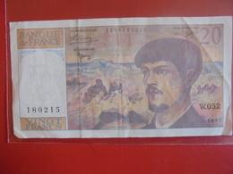 FRANCE 20 FRANCS 1997 CIRCULER - 1962-1997 ''Francs''
