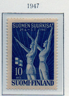 PIA - FINLANDIA - 1947  : Settimane Sportive Di Helsinki -Feste Della Ginnastica   (Yv   322) - Finlandia