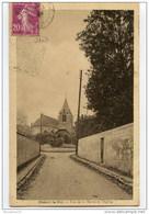 CPA (Réf : R822) Mesnil-le-Roi  (78 YVELINES) Rue De La Marne Et L'Église - Frankreich