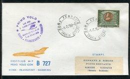 Italien / 1964 / Erstflugbrief Roma-Hamburg (13255) - 6. 1946-.. Repubblica