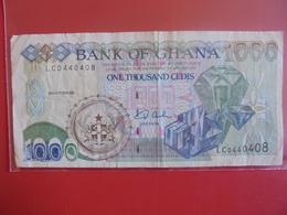 GHANA 1000 CEDIS 2001 CIRCULER - Ghana