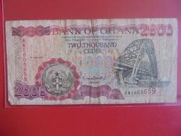 GHANA 2000 CEDIS 1999 CIRCULER - Ghana