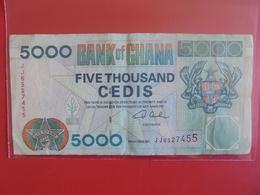 GHANA 5000 CEDIS 2001 CIRCULER - Ghana