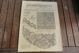 Revue - Journal Des Demoiselles 2 Rue Drouot Paris - 2°album Février 1884 - 8 Pages - Cross Stitch